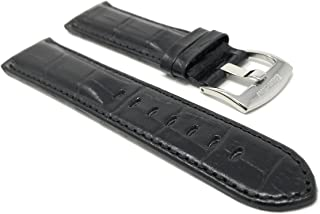 nubuck leather watch strap