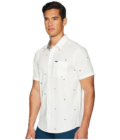 manga de corta blanca Bleeker tejida Volcom Camiseta fxw1XqtIn
