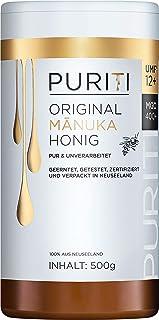 PURITI Manuka-Honig MGO 400 500g aus Neuseeland - zertifiziert, laborgeprüft, reines Naturprodukt, frei von Zusatzstoffen, Premium Qualität