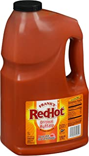Frank's RedHot Original Buffalo Wings Sauce, 128 Fl Oz (Pack of 1)