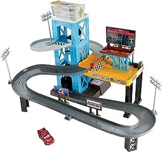 Disney Pixar Cars 3 Piston Cup Motorized Garage