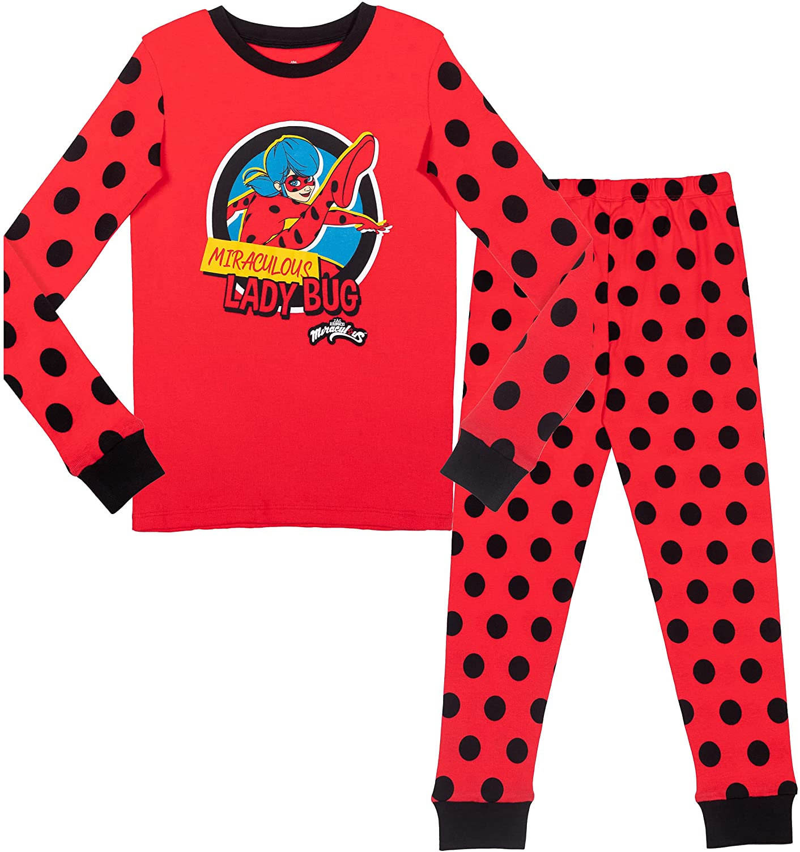 Japan Maker New Miraculous Ladybug Our shop OFFers the best service Pajama Shirt Pants Set