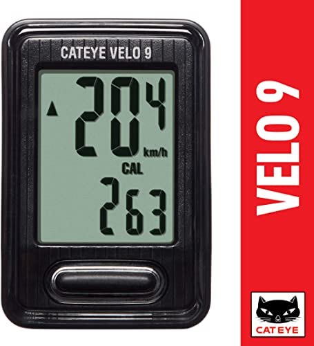 CAT EYE - Velo 9 Wired Bike Computer product image