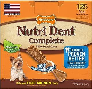 Nylabone Nutri Dent Complete Adult Filet Mignon
