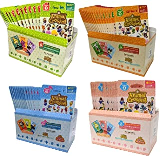 Animal Crossing Amiibo Cards Series 1 2 3 4 Set Bundle (72 Packs) (6 Cards Per Pack / 432 Cards)