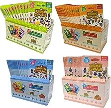 Animal Crossing Amiibo Cards Series 1 2 3 4 Set Bundle (72 Packs) (6 Cards Per Pack / 432 Cards)