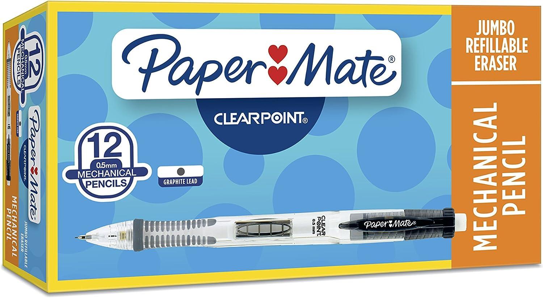 Paper Mate Clearpoint Mechanical Pencils Nashville-Davidson Mall Ba 0.5mm Black Ranking TOP18 #2 HB