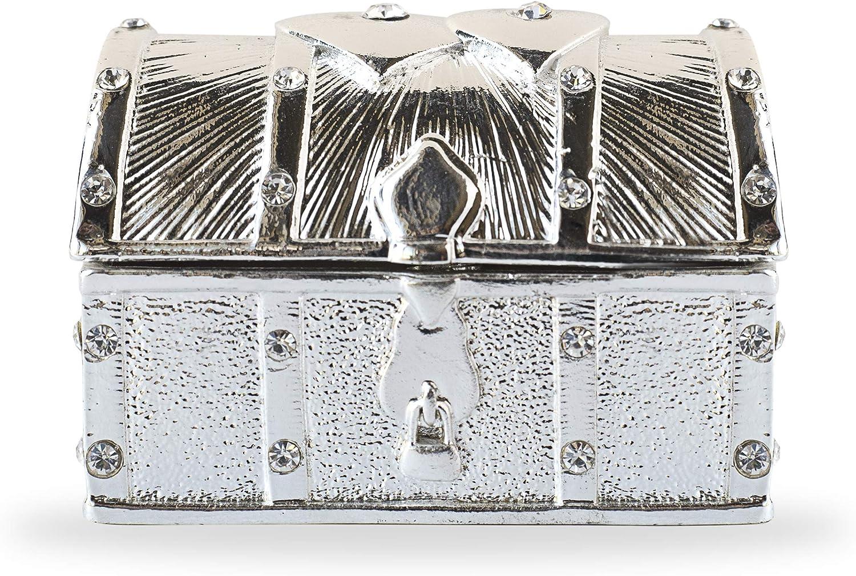 Vintage Rhinestone Trinket Box
