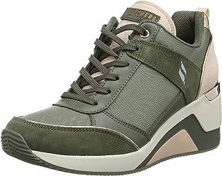 حذاء رياضي بكعب وتدي مرتفع للنساء من Skechers Street Million