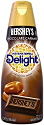International Delight Hershey's Chocolate Caramel Coffee Creamer, Quart, 32 oz