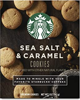 Starbucks Pairing Cookies, Sea Salt & Caramel (Four 5-Oz. Boxes)