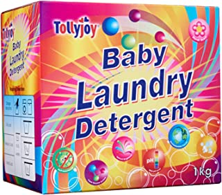 Tollyjoy Baby Laundry Detergent, Floral Fragrance, 1kg