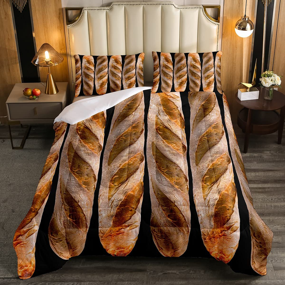 Erosebridal Baguette Popular overseas Duvet Sets 3D Set French Sale special price Bread Comforter Ba