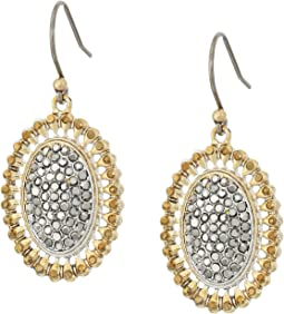 Lucky Brand - Pave Drop Earrings