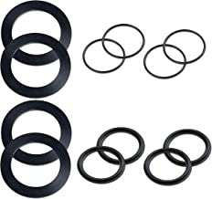 Intex Replacement Large Strainer, 4 of Each Washer and O-Ring Parts Pack - 10745, 10255 and 10262 (2 Pack)