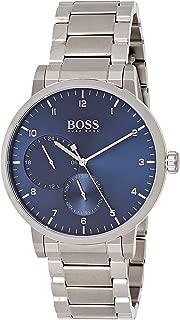 Hugo Boss Mens Quartz Watch, Analog Display and Stainless Steel Strap 1513597
