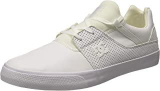 DC Men's Heathrow Vulc M Shoe Wht Sneakers