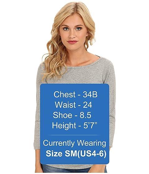 manga Camiseta 4 de tres puntos británica de granito 3 7rw8Y7q