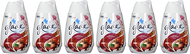 Glade Solid Air Freshener Apple Cinnamon 6 Ounce Pack Of 6
