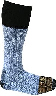 Heat Factory Acrylic Blend Socks w/Foot Warmer Pockets, 2 Pairs