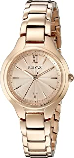 Women's 28mm Rose Goldtone Stainless Steel Bracelet Watch