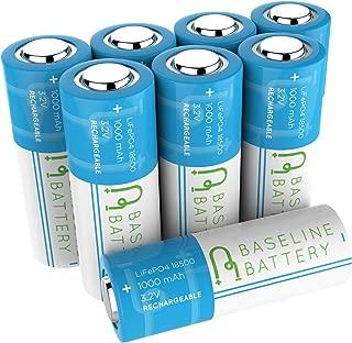 Best 18500 li ion batteries Reviews