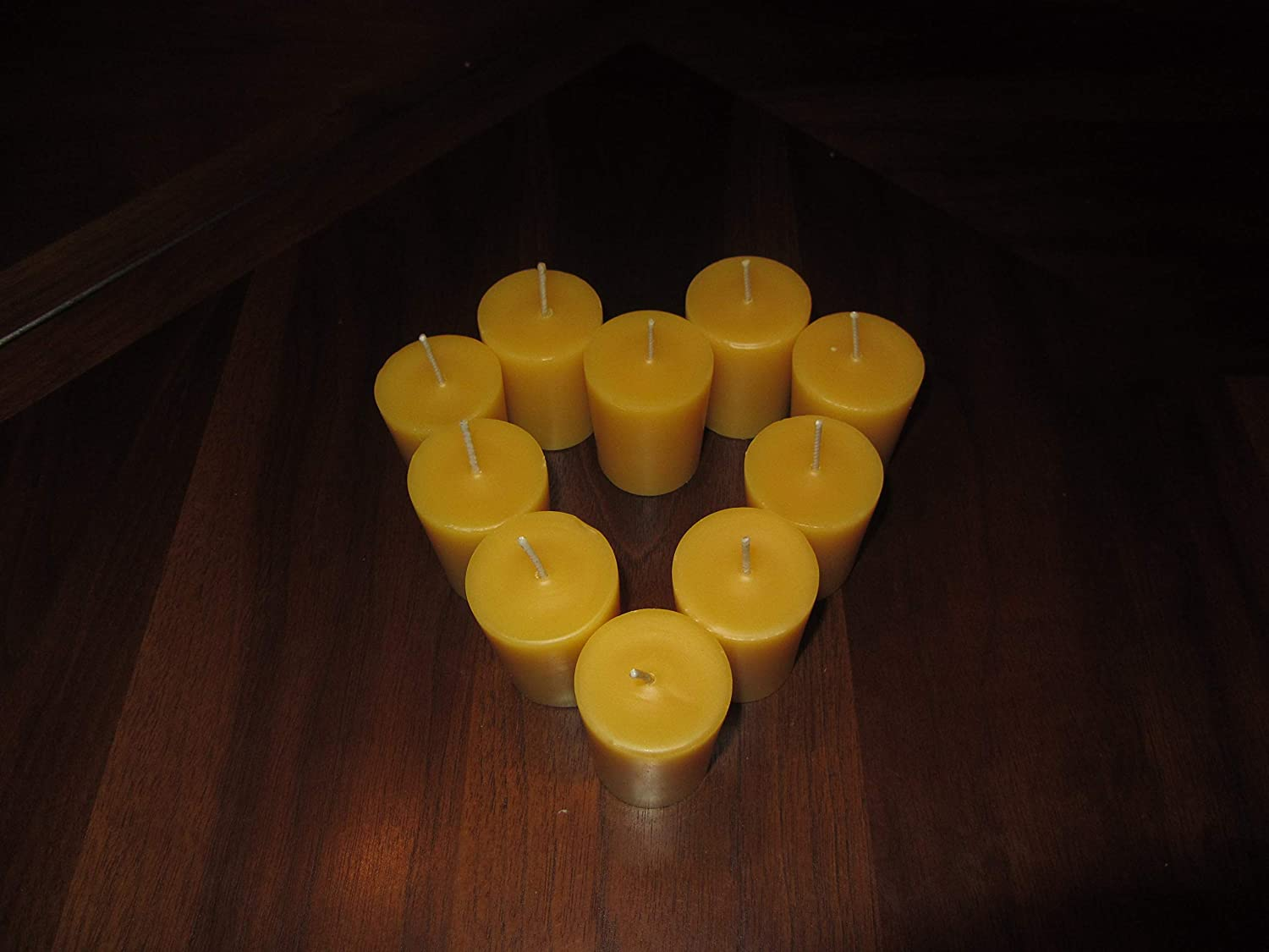 List price 18 Votive Manufacturer direct delivery Beeswax Candles - Pure fami 100% hand-poured
