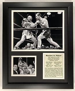 """Legends Never Die Rocky Marciano vs Jersey Joe Walcott - Framed 12""""x15"""" Double Matted Photos, Inc."""