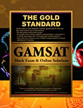 Gold Standard GAMSAT Mock Exam and Online Solutions