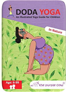 The Purple Cow Doda Yoga for Kids - in Nature Educational Yoga Guide for Children Ages 6 Years Old & Up. use Both in House...