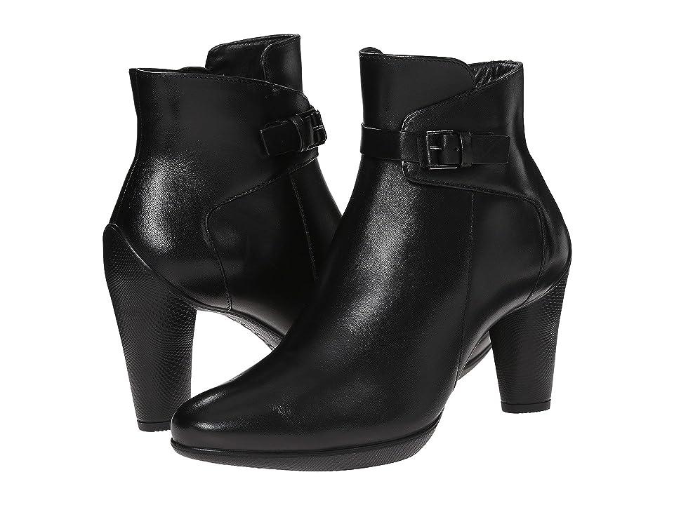 ECCO Sculptured 75 Mid Boot (Black) Women