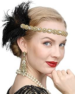 Best black gold headband Reviews