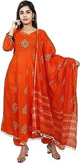 Kurtivala's Cotton Fabric Salwar Suit | Salwar Suit With Dupatta | Ethnic Wear For Women | Latest Design Kurti With Palazzo | Plazzo Pant | Printed | Ethnic Wear | All Design