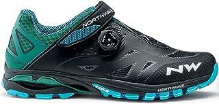 Northwave Spider Plus 2 - Zapatillas de Ciclismo para Hombre, Color Negro y Azul