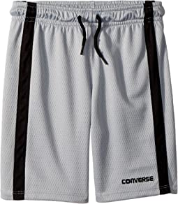 Converse Kids Chevron Vent Mesh Shorts (Toddler/Little Kids)
