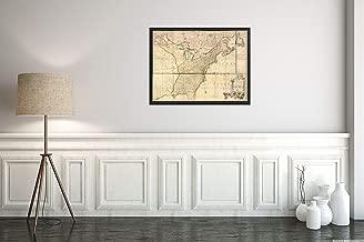 1777 Map|Subject: America|British|North America|Title: Amerique septentrionale avec les Routes, dist