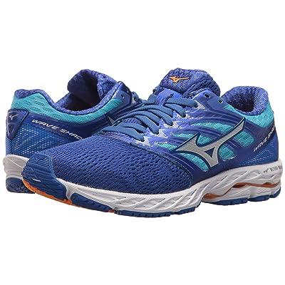 Mizuno Wave Shadow (Dazzling Blue/White) Girls Shoes