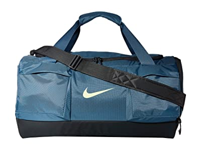 Nike Vapor Power Medium Duffel (Thunderstorm/Dark Smoke Grey/Ghost Green) Duffel Bags