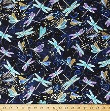 dancing bugs fabric