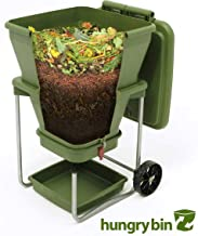 Worm Farm Compost Bin - Continuous Flow Through Vermi Composter for Worm Castings, Worm Tea Maker, Indoor/Outdoor, 20 gallons