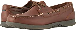 Nunn Bush - Bayside Lites Two-Eye Moc Toe Boat Shoe