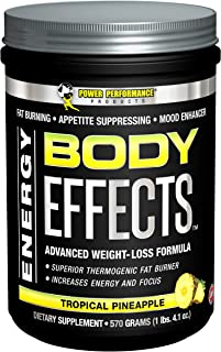 Power Performance Products Body Effects The Ultimate Weight Loss, 30 serves, Tropical Pineapple, 570 Grams