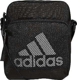 adidas Amplifier Festival Crossbody Bag, Black/White, One Size