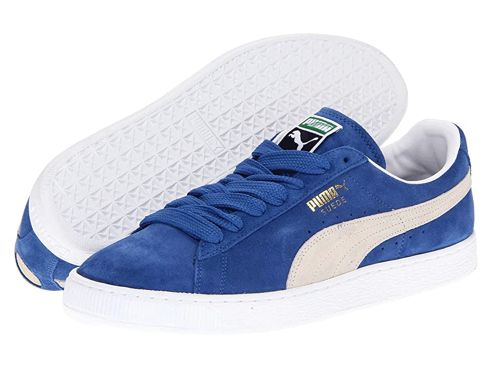 PUMA Suede Classic (Olympian Blue/White) Shoes