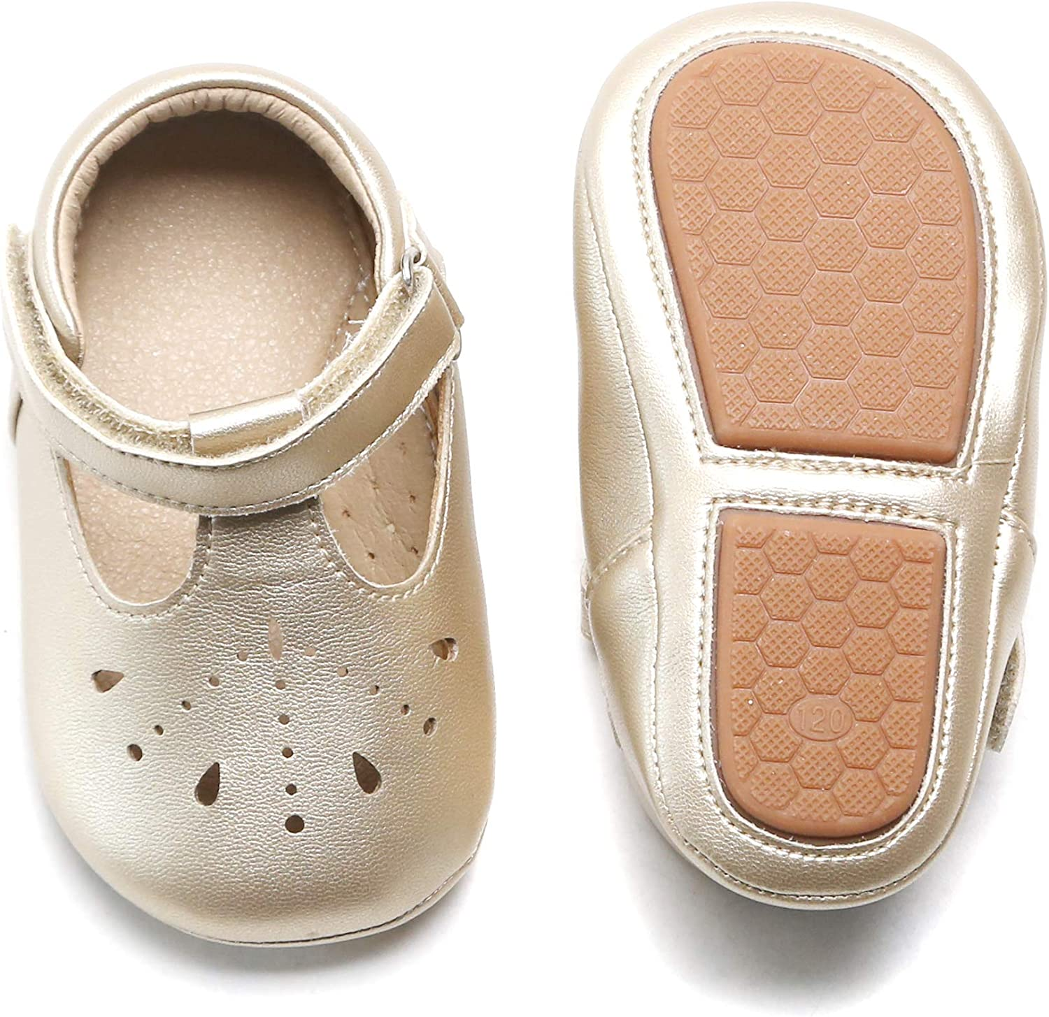 Felix NEW before selling Flora Soft Sole Leather Baby Walking Shoes - Infant Las Vegas Mall