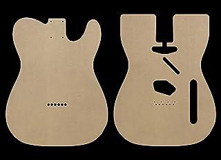 "Telecaster MDF Guitar Body Template 0.25"" thickness"