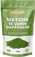 Matcha Tee Pulver Bio - Premium-Qualität - 100g. Original Green Tea aus Japan. Japanischer Matcha ideal zum Trinken....