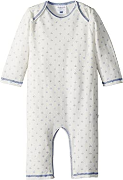Toobydoo - Sweet Blue Anchor Jumpsuit (Infant)