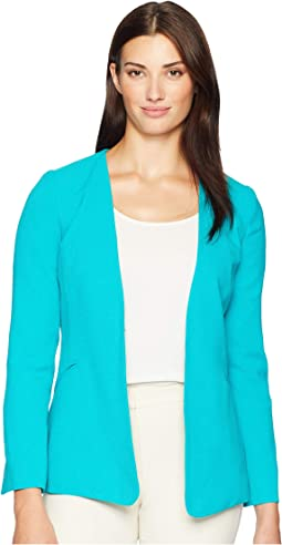 Crepe Open Slit Sleeve Jacket