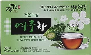 BITTER MELON TEA (Low-Temperature Aged) Gohyah Tea (1.2 g x 50 Tea Bags)_여주차